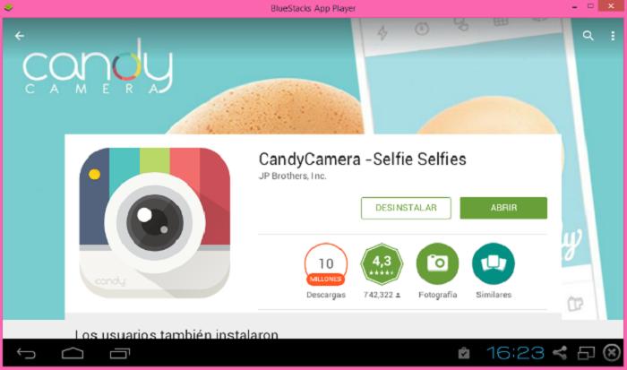 Descargar Candy Camera para PC APK